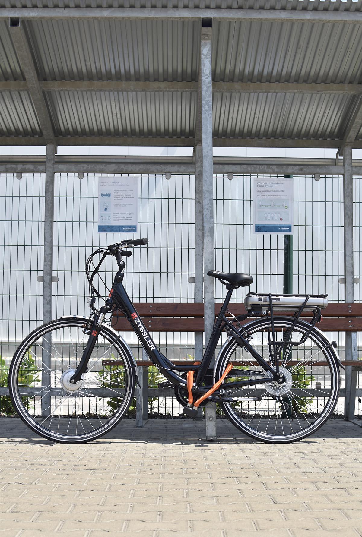 axa összehajtható kerékpár zár