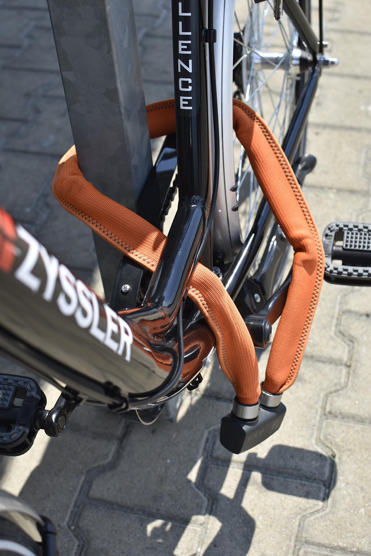 axa összecsukható kerékpár zár