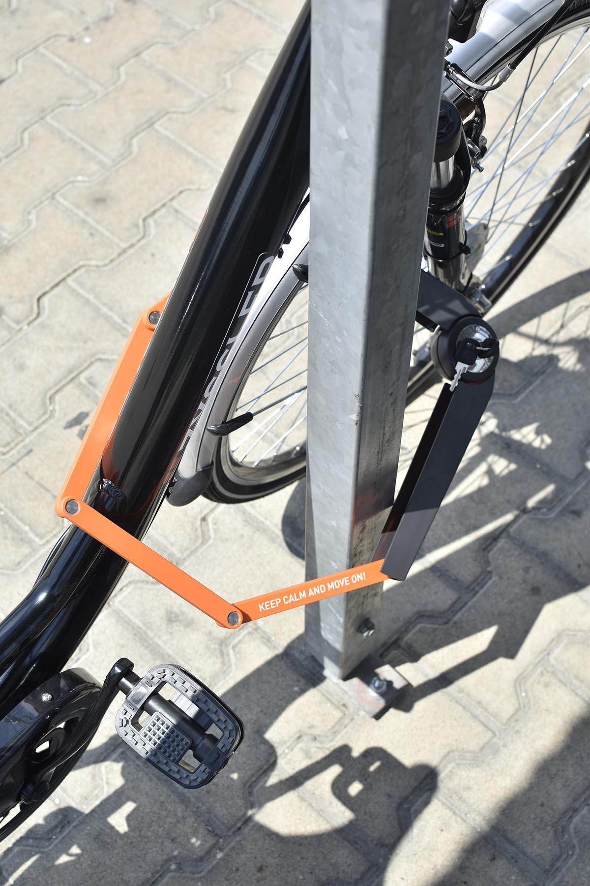 axa hajtogatós bicikli zár