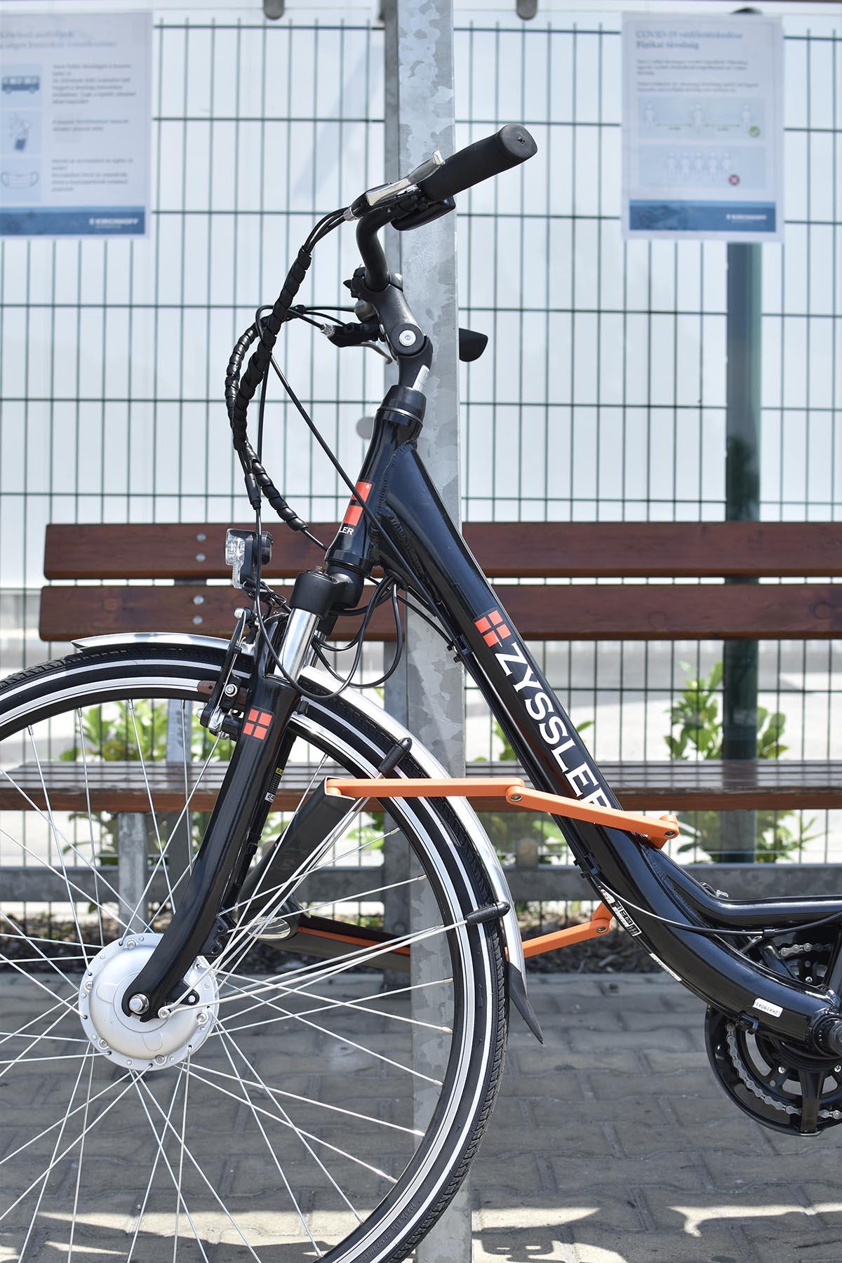 axa bicikli zár