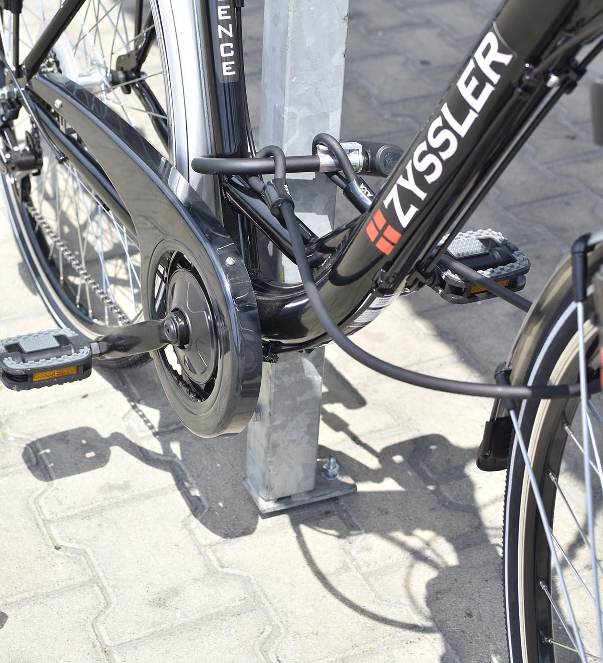 axa u-lakat kerékpár zár