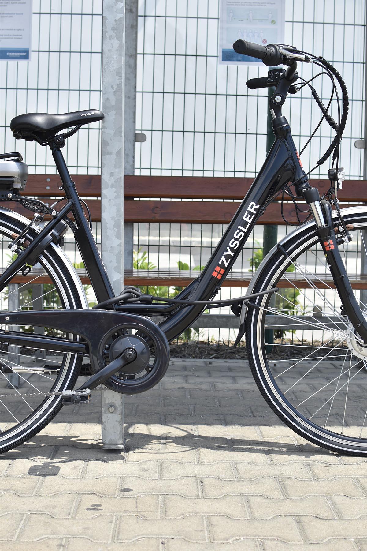 axa kerékpár lakat kábel zár