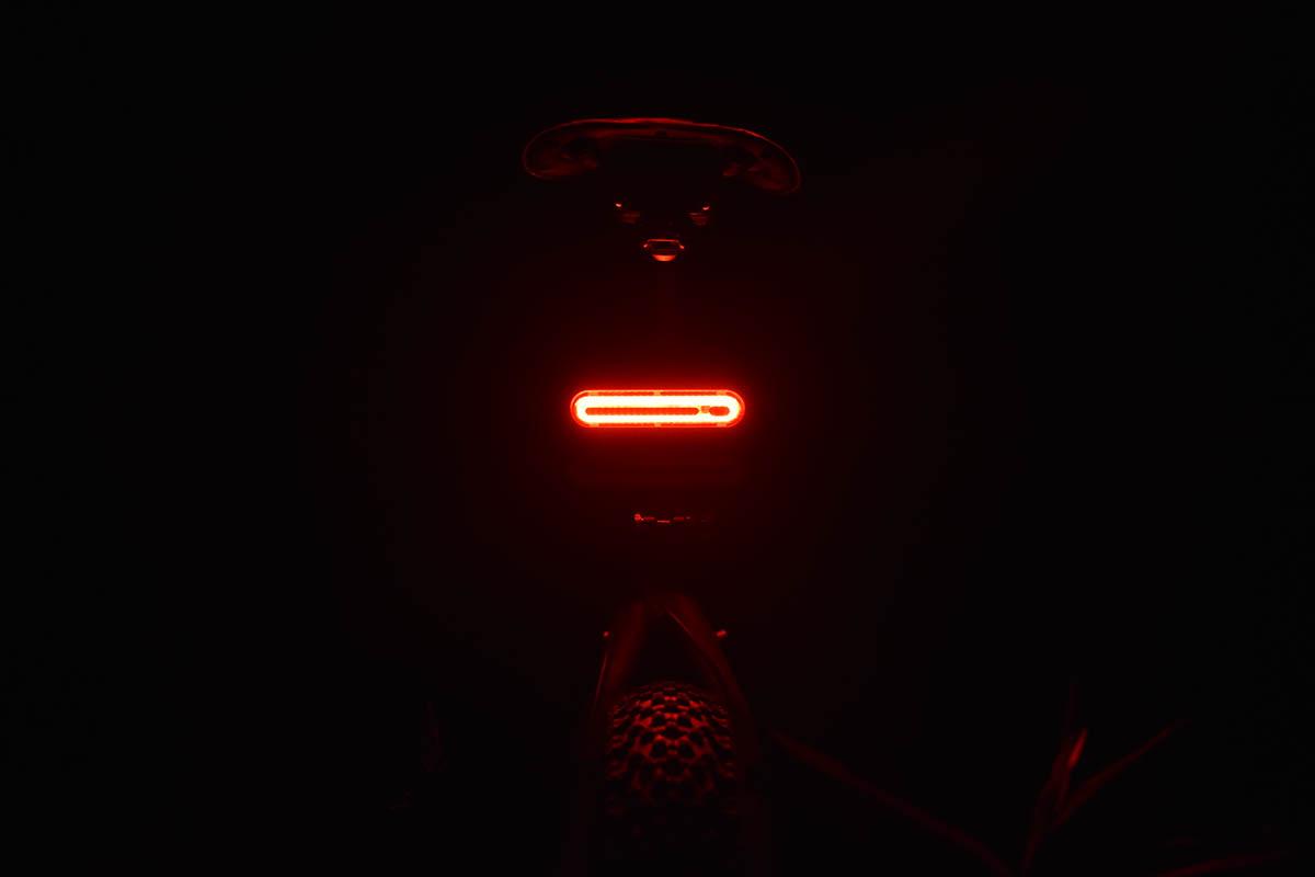 kerékpár hátsó lámpa