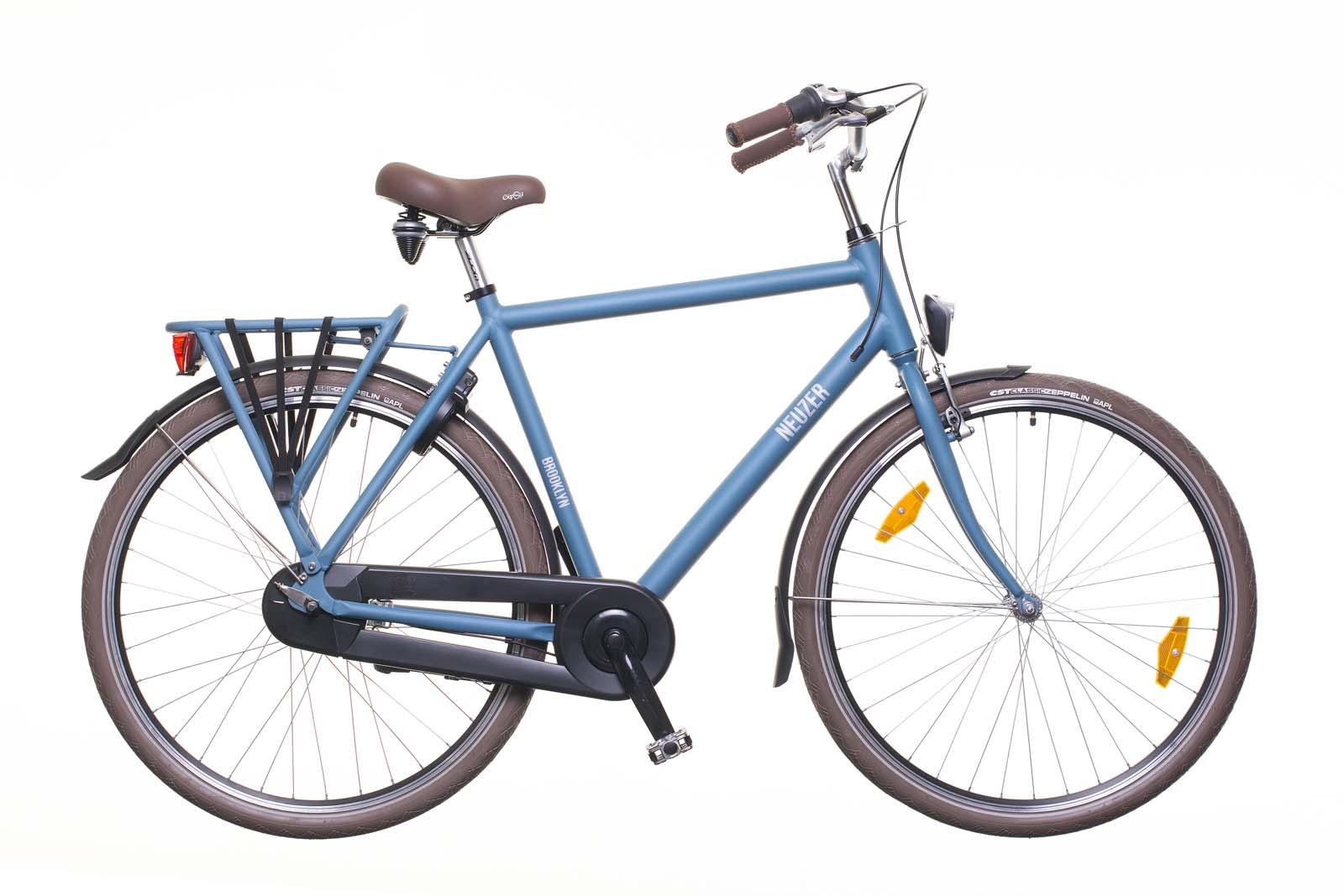 férfi városi kerékpár, nagy vázméret