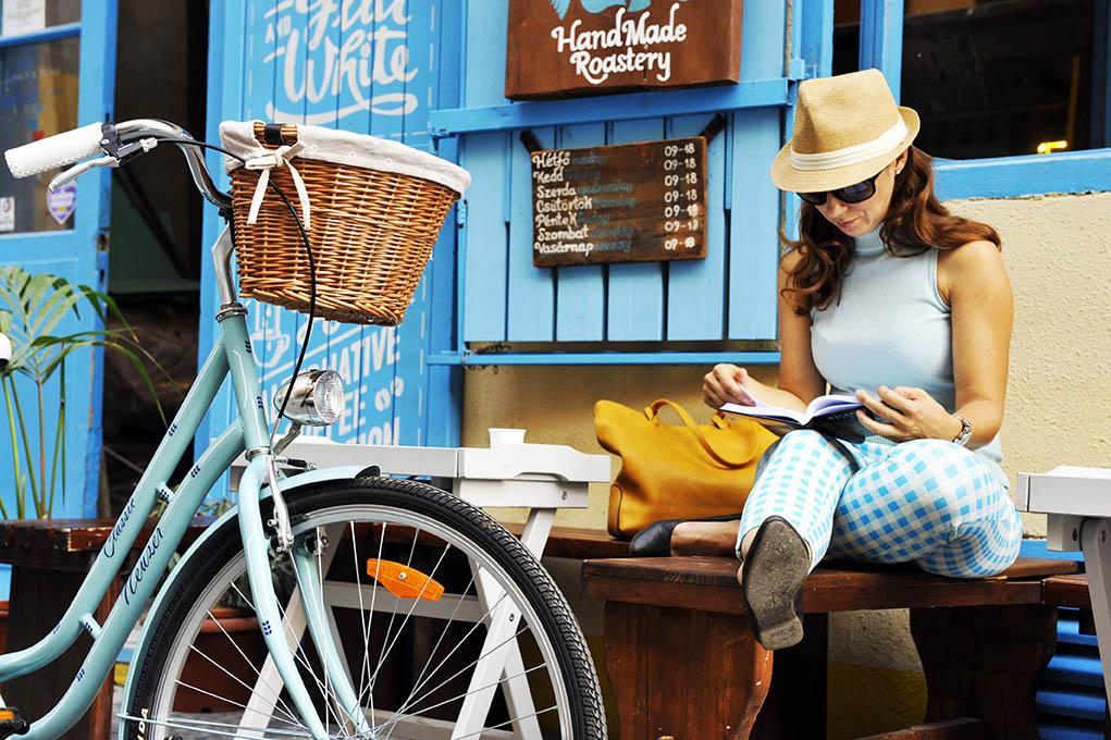 city bicikli, kényelmes classic kerékpár