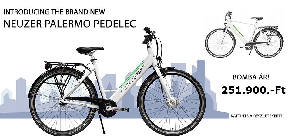 Neuzer Palermo pedelec ebike elektromos kerékpár